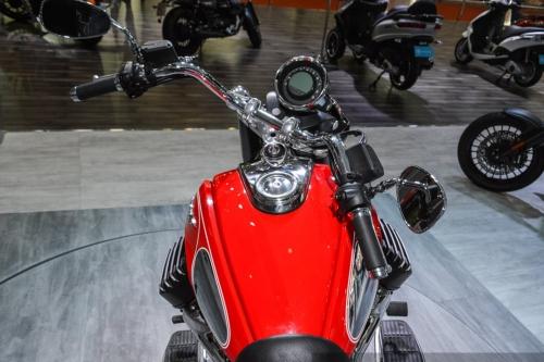 Tappo serbatoio per Moto Guzzi Eldorado rossa 240.ECT.BKE