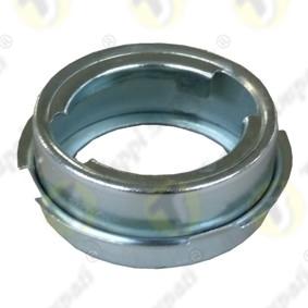 Bocchettone per serbatoio moto T40.BKE in acciaio zincato a baionetta diametro di passaggio 40 mm da annegare nei serbatoi in plastica o vetroresina