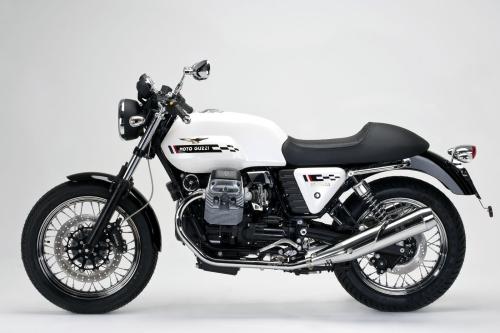 Tappo serbatoio per Moto Guzzi V7 Cafe Classic 2010 240.1V7.BKE con chiave e flangia