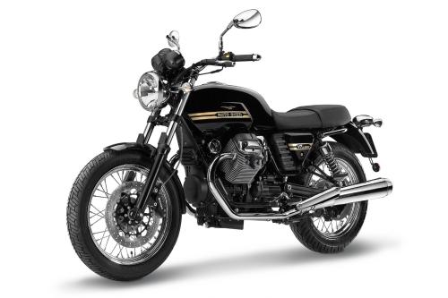 Tappo serbatoio benzina 240.1V7.BKE con chiave e flangia per Moto Guzzi V7 Classic 2013