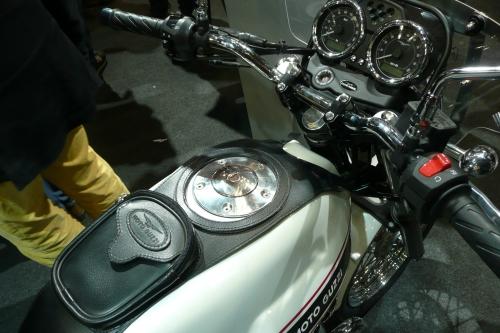 Tappo serbatoio per Moto Guzzi V7 Classic 240.1V7.BKE lucido