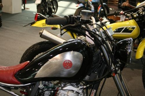 Tappo moto 240.COM.BKE per serbatoio per custom Honda XL 600 LM True Blood