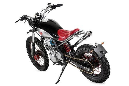 Tappo moto 240.COM.BKE per serbatoio per custom Honda XL 600