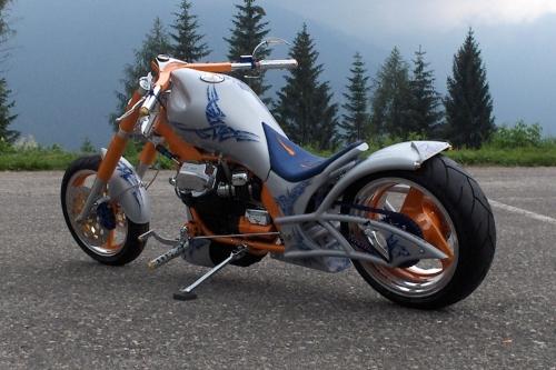 Tappo serbatoio per custom Moto Guzzi California Tribals EV 240.COM.BKE