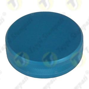 Tappo serbatoio moto ALU.BKE alluminio anodizzato blu filettato femmina