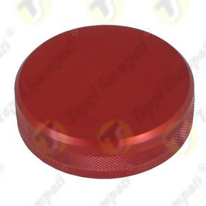 Tappo serbatoio moto ALU.BKE alluminio anodizzato rosso filettato femmina