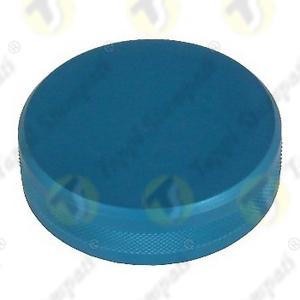 Tappo serbatoio moto ALU.HD.BKE alluminio anodizzato blu filettato maschio