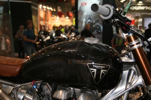 Tappo serbatoio per Triumph scrambler ALU.HD.BKE