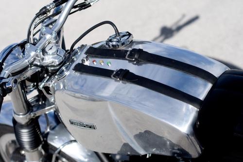 Tappo per serbatoio Moto Guzzi 850 custom G2.BKE in acciaio a baionetta esterna passaggio 38 mm