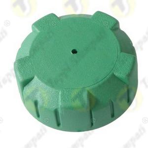 Tappo serbatoio per moto P3.BKE in plastica verde filettato femmina