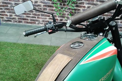 Tappo serbatoio per Moto Triumph custom R.BKE con chiave