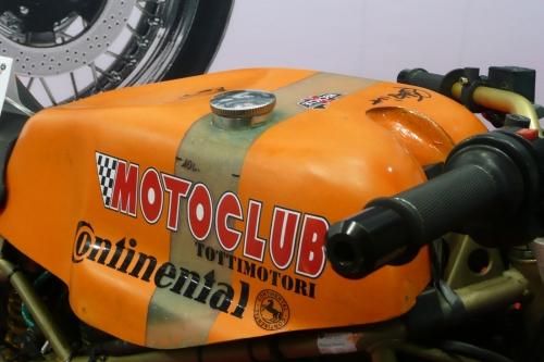 Tappo serbatoio per Ducati 750 Imola custom R.BKE