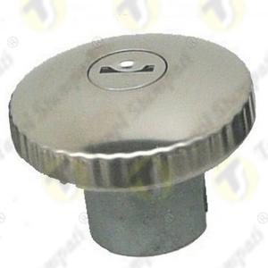 Tappo serbatoio per moto TED.BKE in acciaio con chiave innesto a baionetta diametro di passaggio 30 mm